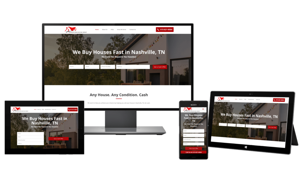 real estate investor website custom design and real estate investor templates