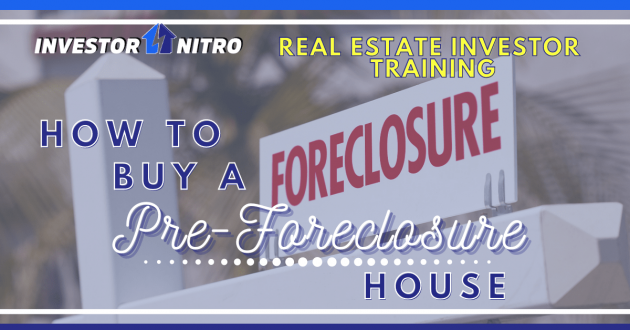 How to buy a pre-foreclosure house